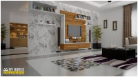 Brilliant Living Room Interior Design In Kerala To ...