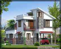 Elevation Modern Villa Design