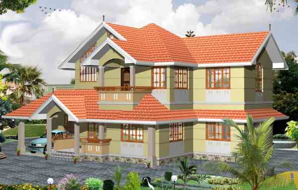 Latest 3 Bhk Kerala Home Design 2000 Sq.ft