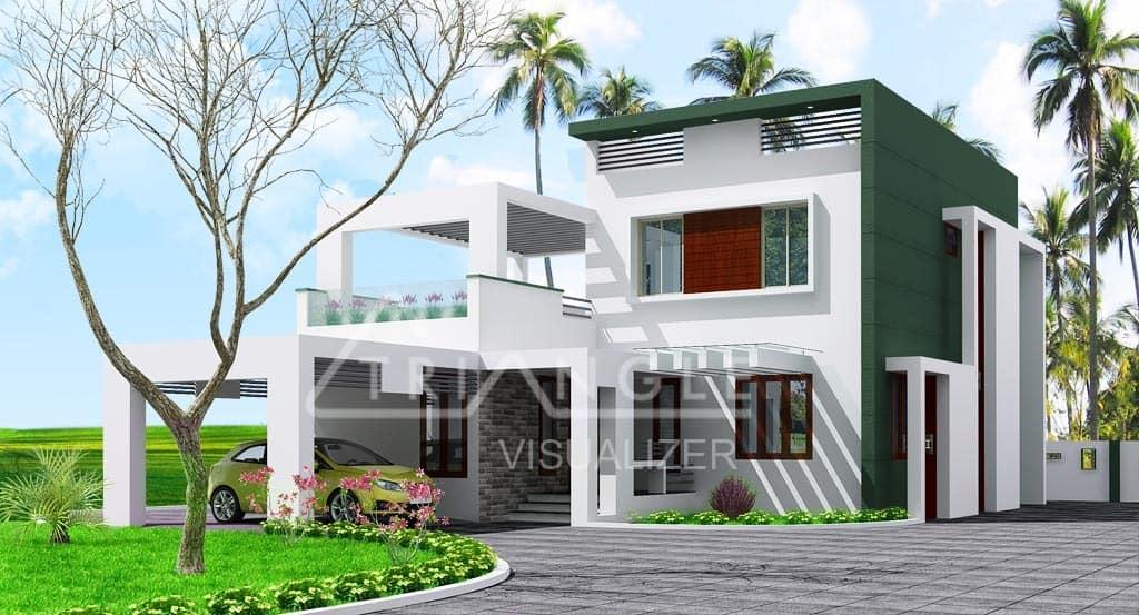 Contemporary Kerala House Plans KeralaHousePlanner