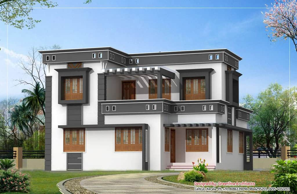 Contemporary Kerala House Plans KeralaHousePlanner