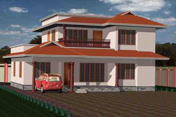 Cost House In Kerala With Plan & - 991 Sq Ft Khp