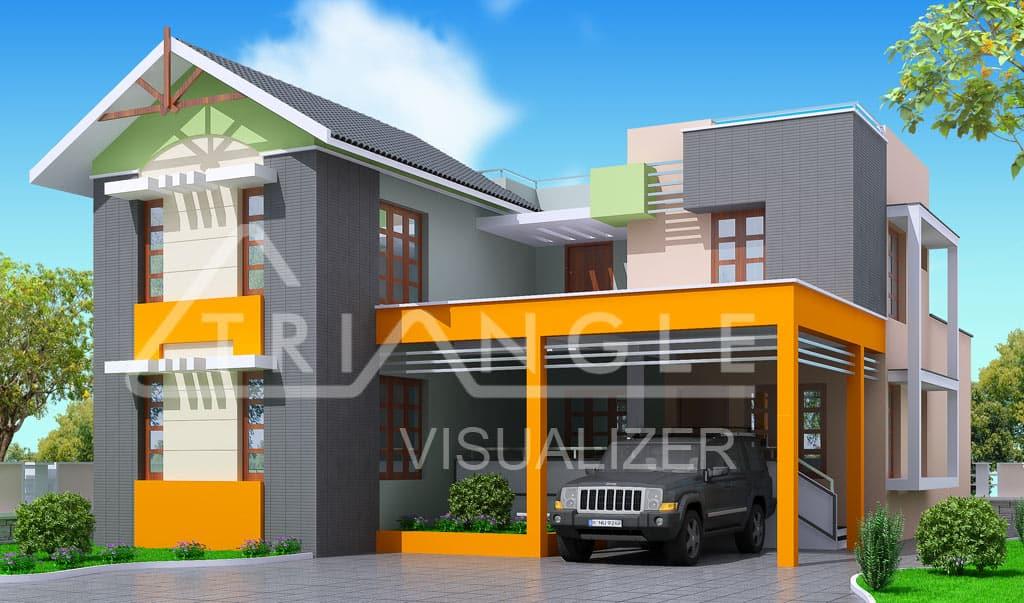 Unique House Designs 2 3 KeralaHousePlanner