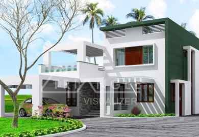Kerala Home Design Two Story