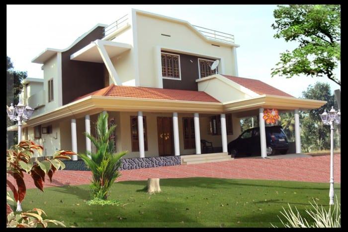 Kerala Home Design 700 Sq Ft