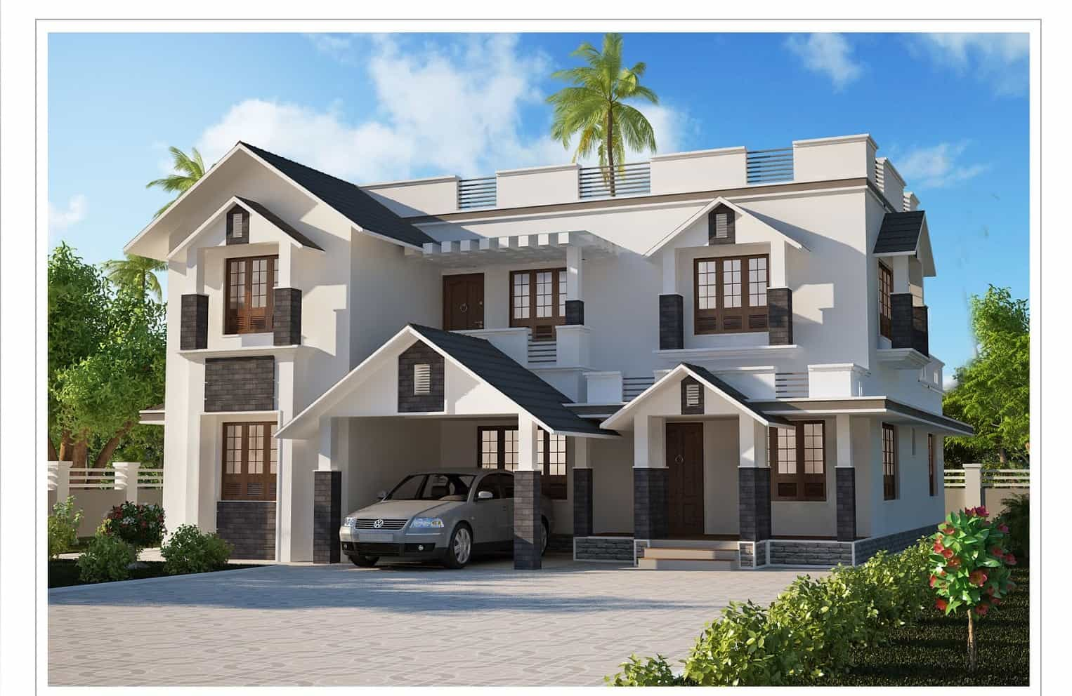 Modern Kerala House Design 2016 At 2980 Sq Ft