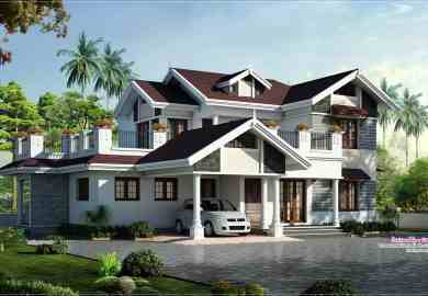 Beautiful Houses In Kerala