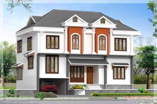 3D Villa House Plans