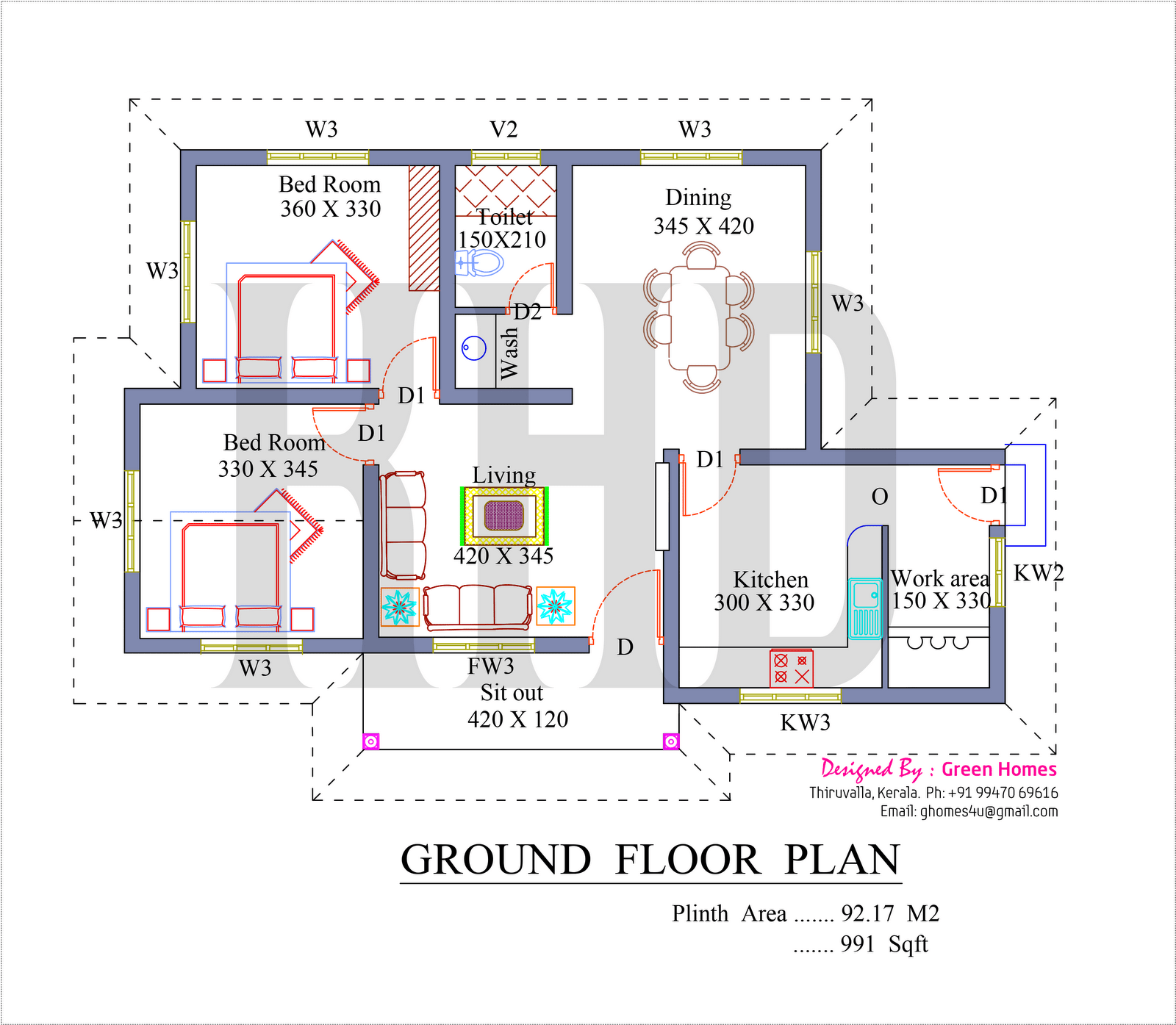 House Plans Square Feet Home Design Low Budget Kerala Homes Home