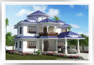 Beautiful Kerala Home At Sq Ft