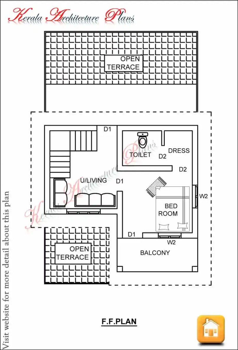 House Plans Sq Ft Less Than Square Foot House - 1250 sq ft house plans