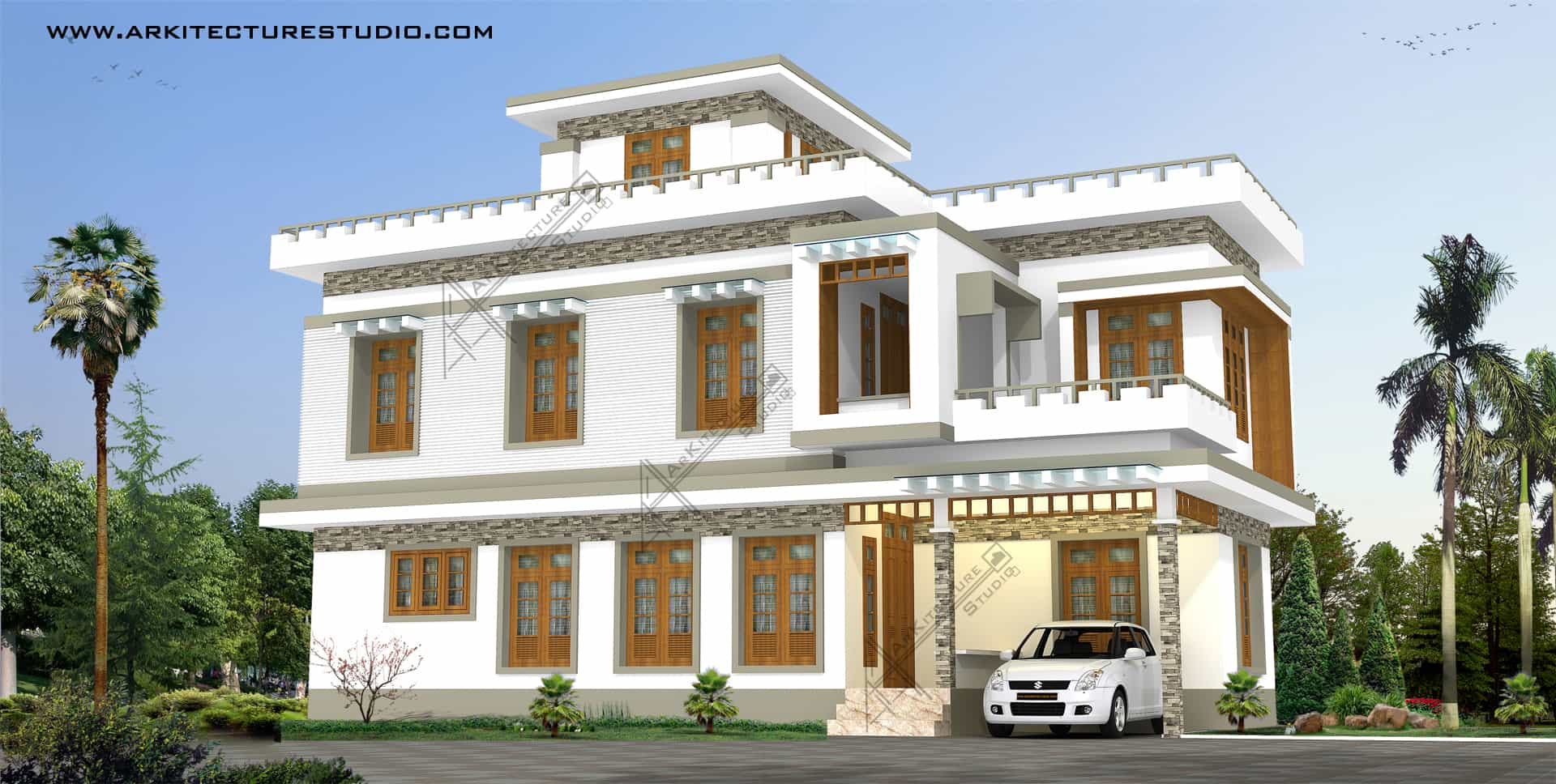 New Model House Plan In Kerala Images And Designs In Kerala New