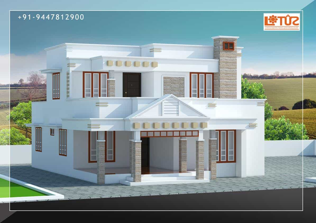 Kerala Home Designs House Plans & Elevations Indian Style Models