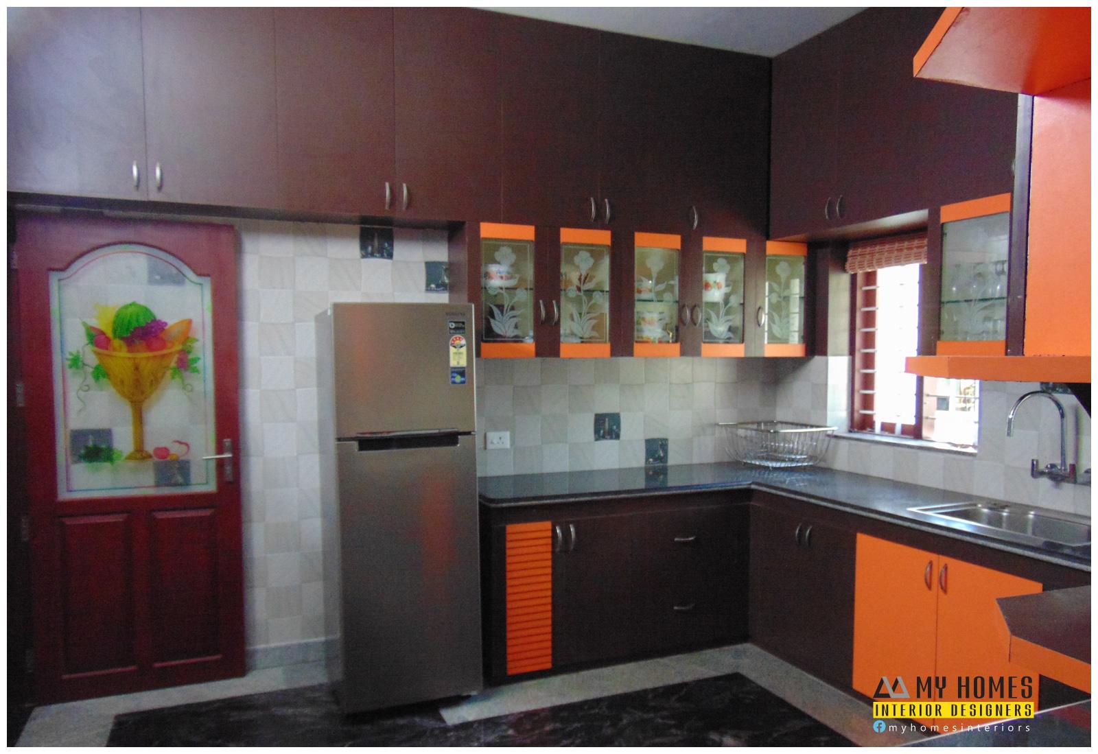 Kerala Kitchen Designs From Top Interior Designers Thrissur