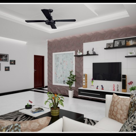 interior design ideas living room kerala style modern tv stand for from designing company thrissur designs homes