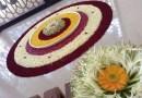 Onam Pookalam Design 13