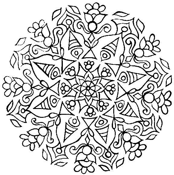 onam pookalam outline designs - 2020  -  7