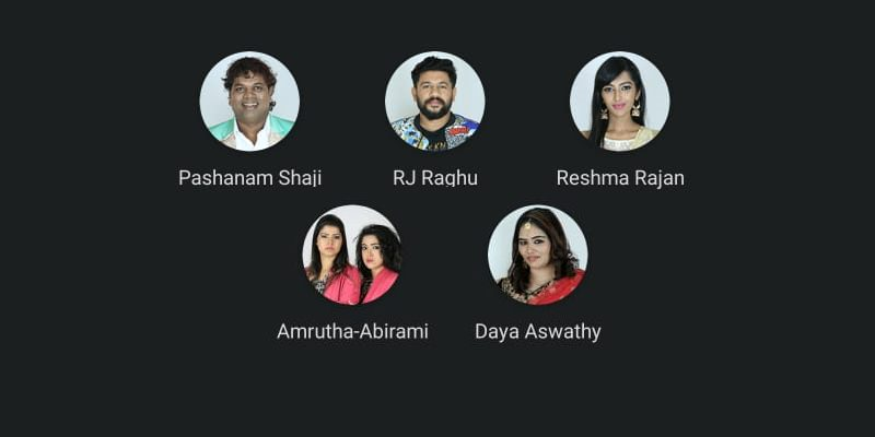 Tenth week nominated contestants - Bigg Boss Malayalam season 2