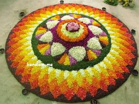 Onam Pookalam Design 69