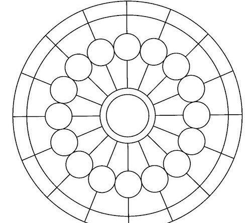 onam pookalam designs outline - 2
