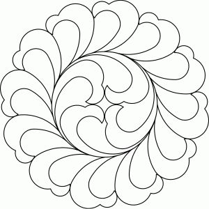 onam pookalam outline designs 2020