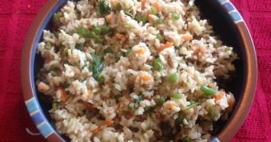Vegetable Masala Rice