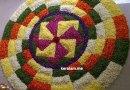 3d Onam Pookalam designs, onam celebration