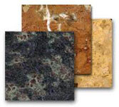 Плиты из натурального камня.