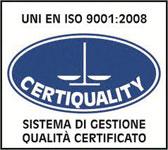 знак стандарта UNI EN ISO 9001:2008