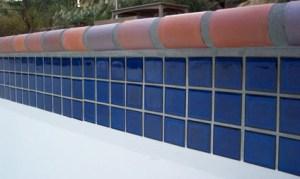 бассейн плитка, швы