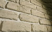 отделка декоративным камнем со швами