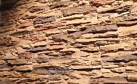 отделка декоративным камнем встык