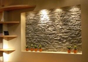 отделка декоративным камнем