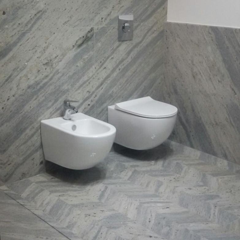 Керамогранит для ванной комнаты.
