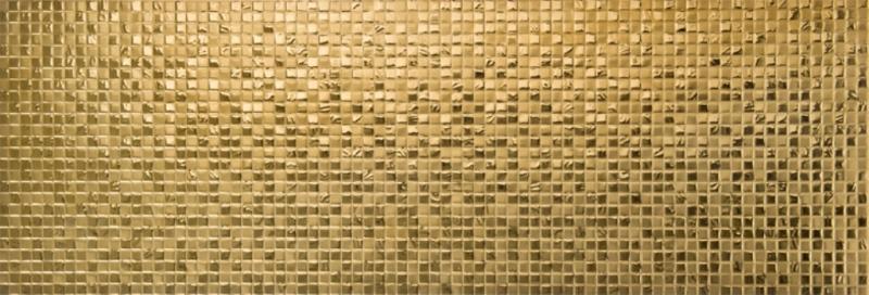 Mozaik porculan ploice za zid Eclipse Gold  Keramika