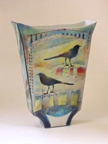 Netty Janssens - Vaasplastiek Vogels