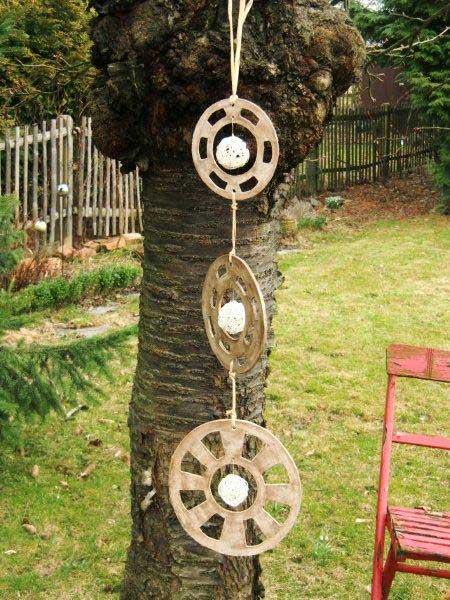 handgemachte Gartendekoration aus Keramik
