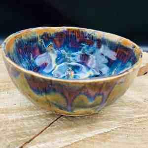 Matcha Schale handgefertigt Keramik Matcha Schale getöpfert Geschirr Design Unikat regional