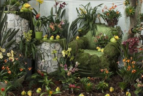 Orchideenausstellung Deko 1200