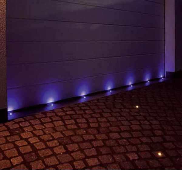 Einbauspots Einbaulampen Einbaustrahler Effektbeleuchtung Stein Fliesen