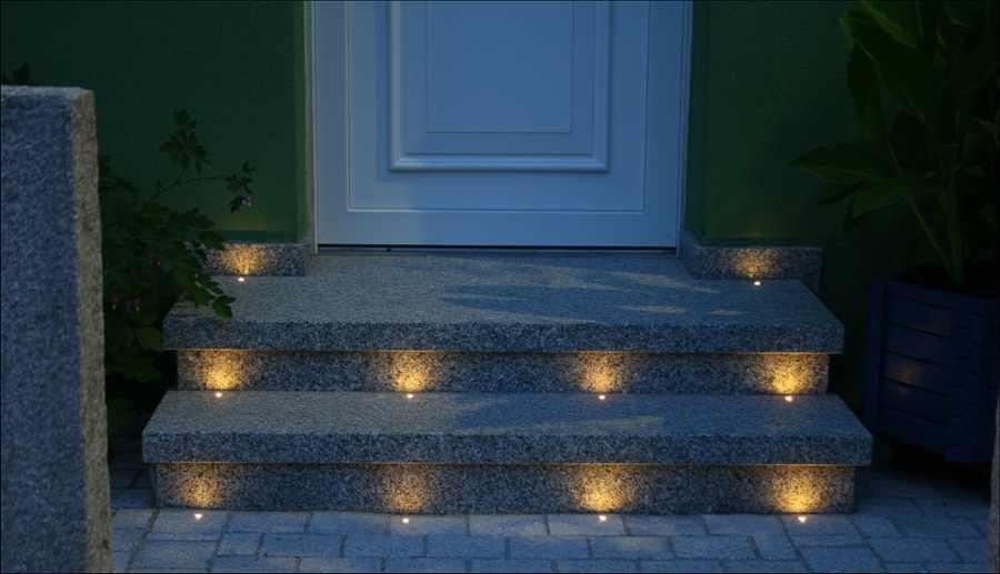 Lichtakzentpunkte Einbaustrahler Fliesenlicht Dotspot Dot spot