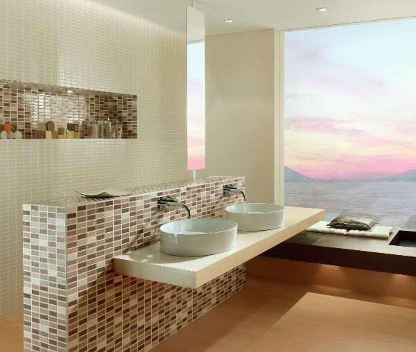 In Fliesen eingeschnittenes Mosaik Mosaikfliesen Fliese