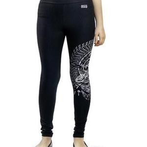Leggings with White Print 007