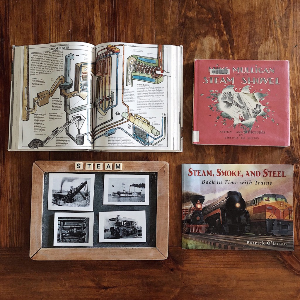 Mike Mulligan and His Steam Shovel - Five In A Row (FIAR)