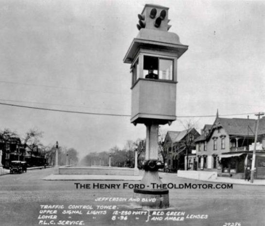 Dünya'da İlk Trafik Lambaları