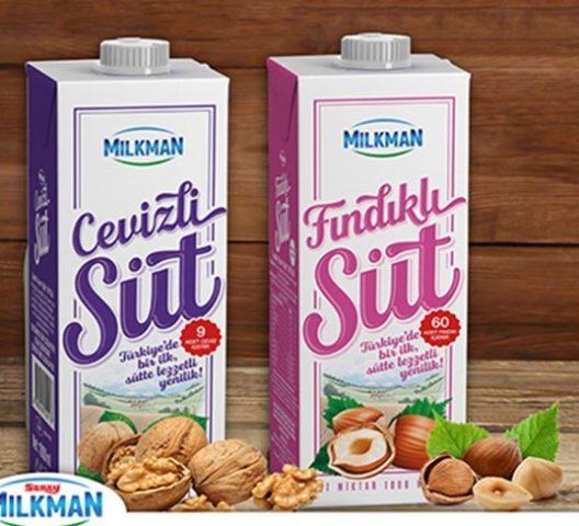 Milkman Cevizli ve Fındıklı Süt Üretti