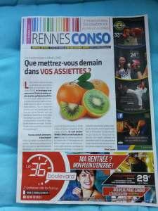 Page de garde de Rennes Conso Octobre 2014