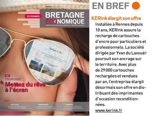 KERink, dans le magasine Bretagne Economique !
