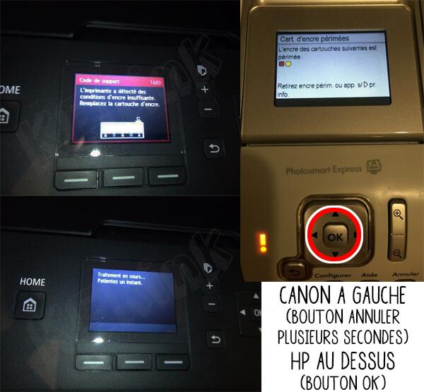 message_erreur_ecran_363_550_551_pgi_cli_kerink_rennes_recharge_cartouche_puce