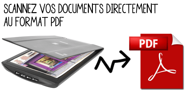 how to scan documents in pdf format
